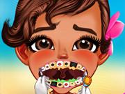 Baby Moana At The Dentist