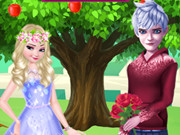 Elsa And Jack Loving Tree