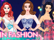 Princesses Fashion Flashmob