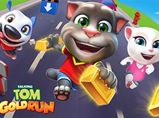 Talking Tom Gold Run Onli…
