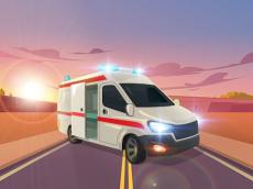 Ambulance Traffic Drive