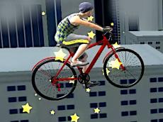 Bike Stunts of Roof