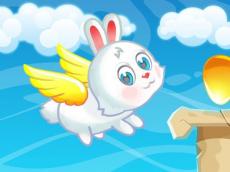 Easter Flying Bunny