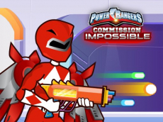 Power Rangers Mission Impossible - Shooting Game