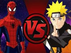 Spiderman Vs Naruto