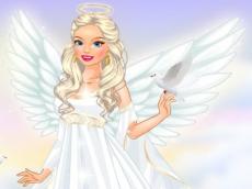 Sweet angel dress-up